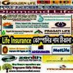 বাংলাদেশের সকল Life Insurance কোম্পানির নাম ঠিকানা ও মোবাইল নাম্বার
