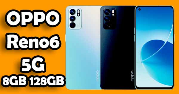 OPPO Reno6 5G Smartphone l 8GB RAM+128GB ROM